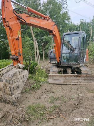 天津日立ZX60-5G挖掘機實拍圖片