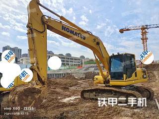 安徽-合肥市二手小松PC200-8M0挖掘机实拍照片