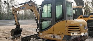 衡水徐工XE60CA挖掘機實拍圖片