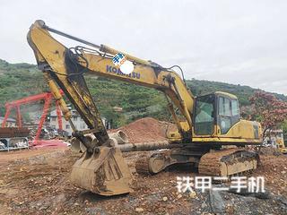 小松PC270-7挖掘机实拍图片