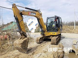 徐工XE60DA挖掘机实拍图片