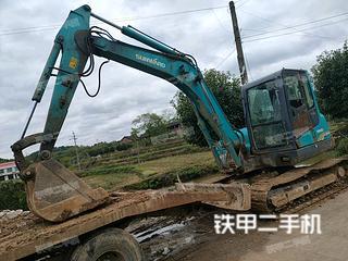 山河智能SWE80E挖掘机实拍图片