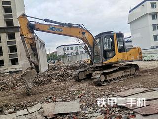 上海徐工XE150D挖掘機實拍圖片
