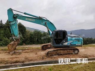 哈爾濱神鋼SK200-8挖掘機實拍圖片