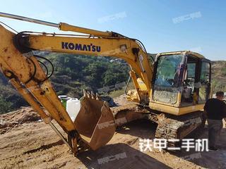 石家庄小松PC130-7挖掘机实拍图片