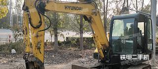 衡水現代R60-7挖掘機實拍圖片