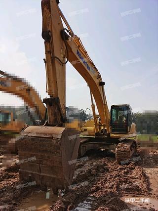 阳泉小松PC360-7挖掘机实拍图片