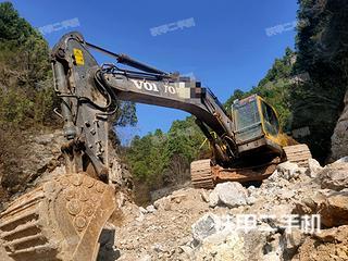 运城沃尔沃EC360BLC挖掘机实拍图片