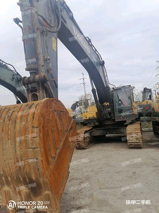 阳泉沃尔沃EC480DL挖掘机实拍图片