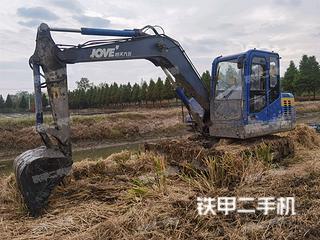延安恒天九五JV85C挖掘机实拍图片