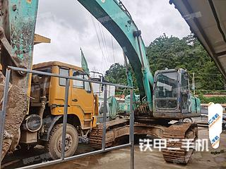 昆明神鋼SK350LC-8挖掘機實拍圖片