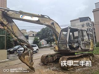 深圳住友SH120A1挖掘机实拍图片