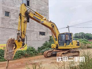 大連小松PC200-8挖掘機實拍圖片