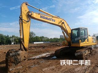 安徽-淮南市二手小松PC200-8M0挖掘机实拍照片
