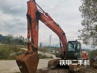 日立ZX210H-3G挖掘機實拍圖片