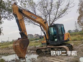 上海三一重工SY125C挖掘機實拍圖片