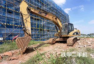 卡特彼勒329DL挖掘機實拍圖片