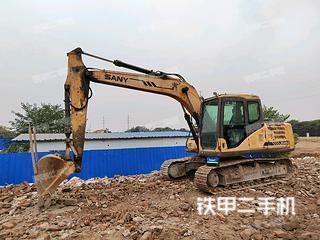 哈爾濱三一重工SY135挖掘機實拍圖片
