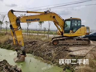 江苏-连云港市二手小松PC200-7挖掘机实拍照片