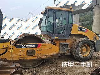 贵州-贵阳市二手徐工XS223JE压路机实拍照片