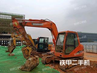 斗山DH80GOLD挖掘机实拍图片