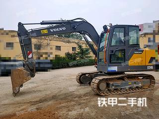 运城沃尔沃EC75D挖掘机实拍图片