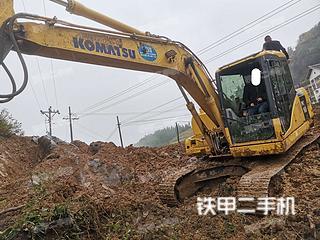 四川-广元市二手小松PC130-7挖掘机实拍照片