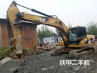 安徽-淮南市二手卡特彼勒320DGC进口挖掘机实拍照片