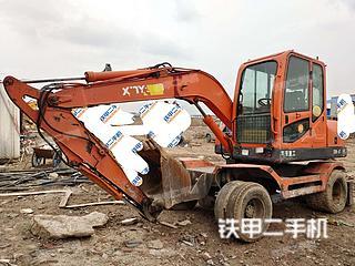 新源XY75W-8挖掘机实拍图片