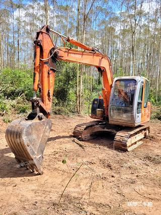 肇慶日立ZX70挖掘機實拍圖片