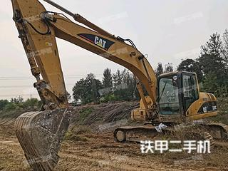 石家庄卡特彼勒320C挖掘机实拍图片