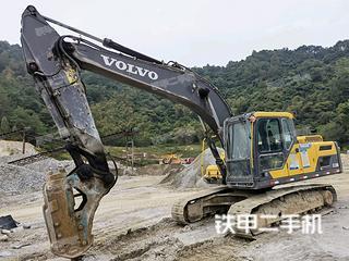二手沃尔沃 EC220D 挖掘机转让出售