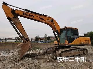 江苏-连云港市二手三一重工SY205C挖掘机实拍照片