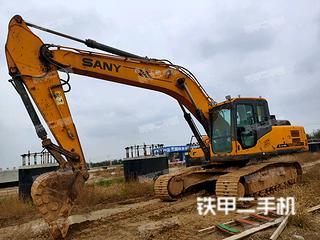 运城三一重工SY235C挖掘机实拍图片