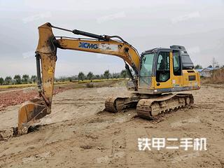 宿迁徐工XE150D挖掘机实拍图片