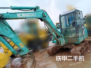 湖南-衡阳市二手神钢SK60-8挖掘机实拍照片