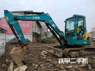 久保田KX155-3SZ挖掘机实拍图片