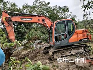 永州斗山DX120-9C挖掘机实拍图片