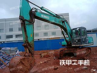 江西-抚州市二手神钢SK200-8挖掘机实拍照片