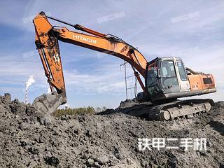 东营日立ZX200-3G挖掘机实拍图片