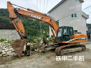 凱斯CX240B挖掘機實拍圖片
