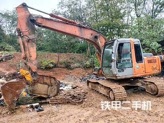 宁波日立ZX120挖掘机实拍图片