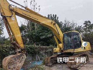 河南-郑州市二手小松PC200-6挖掘机实拍照片