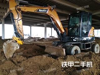 二手三一重工 SY65W 挖掘机转让出售