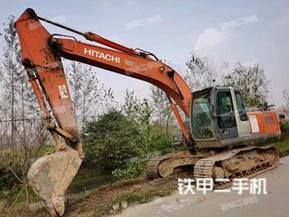 宁波日立ZX200-3G挖掘机实拍图片