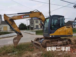 延安徐工XE75DA挖掘机实拍图片