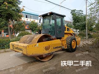 安徽-滁州市二手柳工CLG614压路机实拍照片