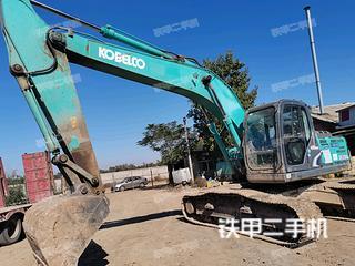 石家庄神钢SK210LC-8挖掘机实拍图片