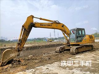 厦门住友SH200-5挖掘机实拍图片