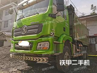陕汽重卡6X4工程自卸车实拍图片